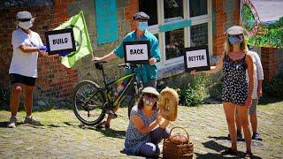 Build Back Better, Extinction Rebellion Shaftesbury, UK