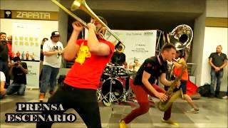 LUCKY CHOPS -  CONCIERTO - METRO - ZAPATA - MEXICO