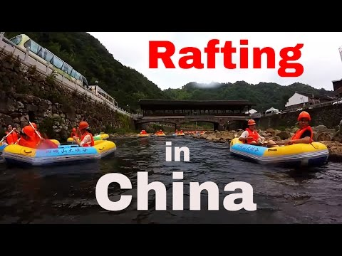 Beach and Tubing in Xiangshan, China (GoPro HD)