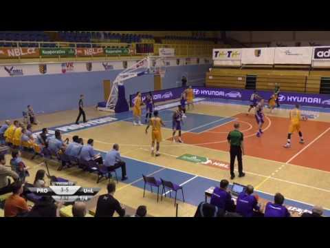 Mikey Thompson Blue #5   Czech NBL (2016-17) Protejov VS  Usti
