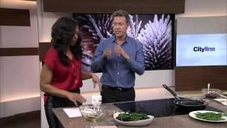 Beet-green Bean Salad And Raspberry Pie Lollipops