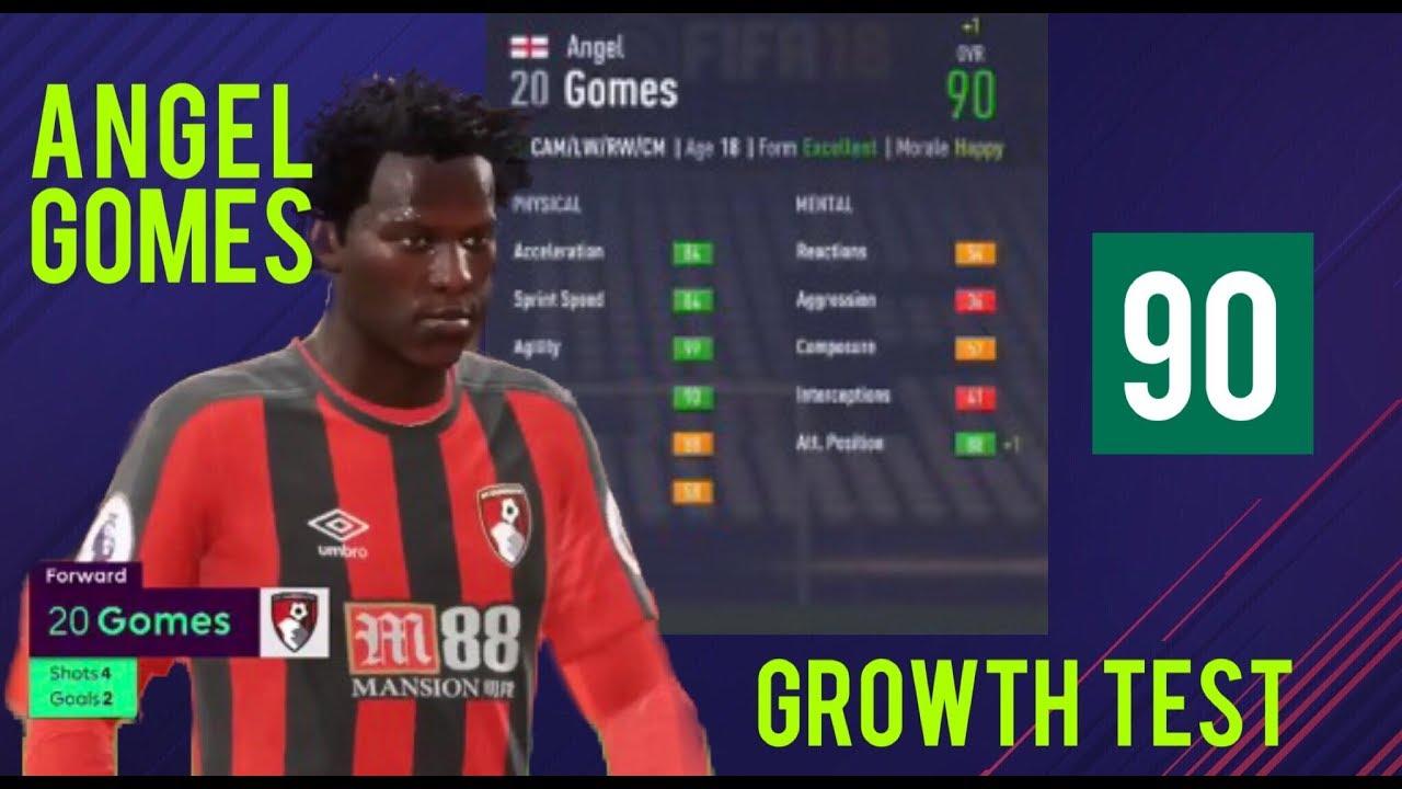 Angel Gomes Fifa 18