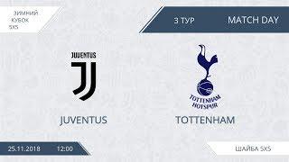 Juventus 9:6 Tottenham, 3 тур