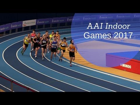 Men's 1500m Heat 1 | AAI Indoor Games 2017 |