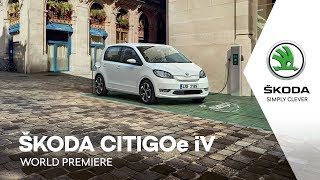 ŠKODA CITIGOe iV celebrates its World Premiere thumbnail