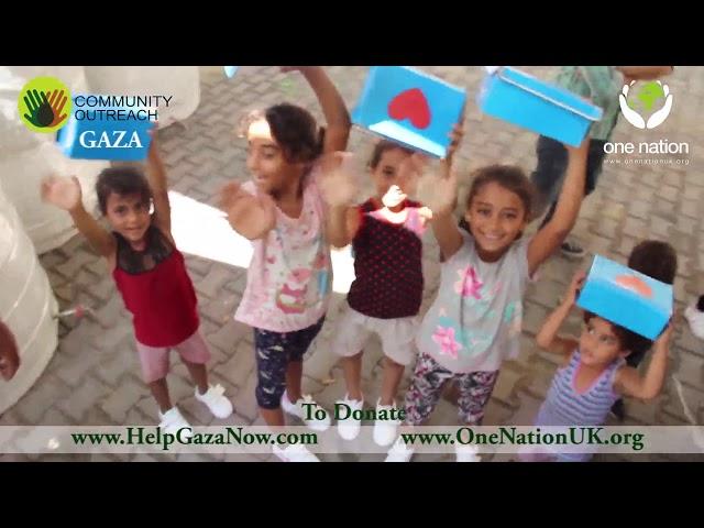 Gaza Orphans, Footwear Distribution, September 2018