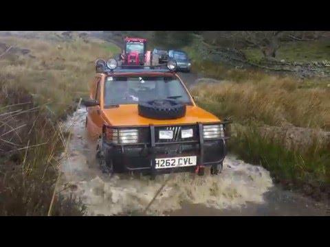 Fiat panda 4x4 extreme doovi for Panda 4x4 sisley off road