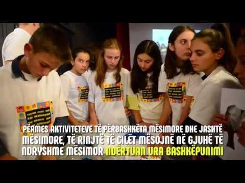 Prezantim publik i aktiviteteve të përbashkëta të nxënësve