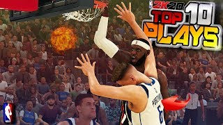 NBA 2K20 TOP 10 PLAYS #8 RARE Posters, Ankle Breakers & More