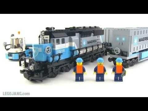 Lego Maersk Train 10219 Review Youtube