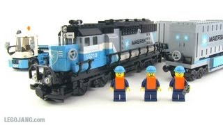 LEGO Maersk Train 10219 review!