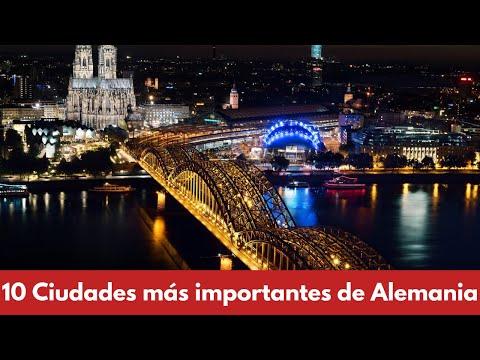 🇩🇪 LAS 10 CIUDADES MAS IMPORTANTES DE ALEMANIA