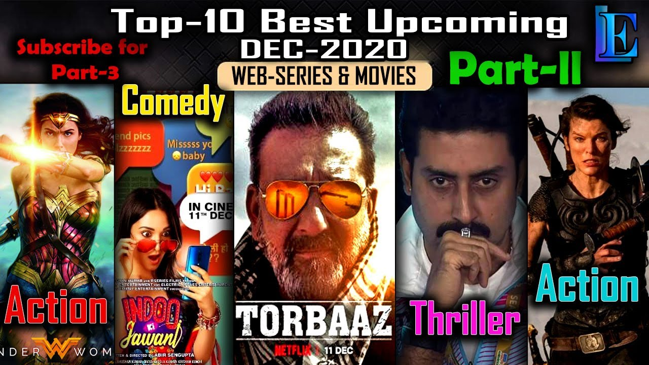 Top-10 Best DEC-2020 Upcoming Web Series & Movies Part-2 with Releasing Date