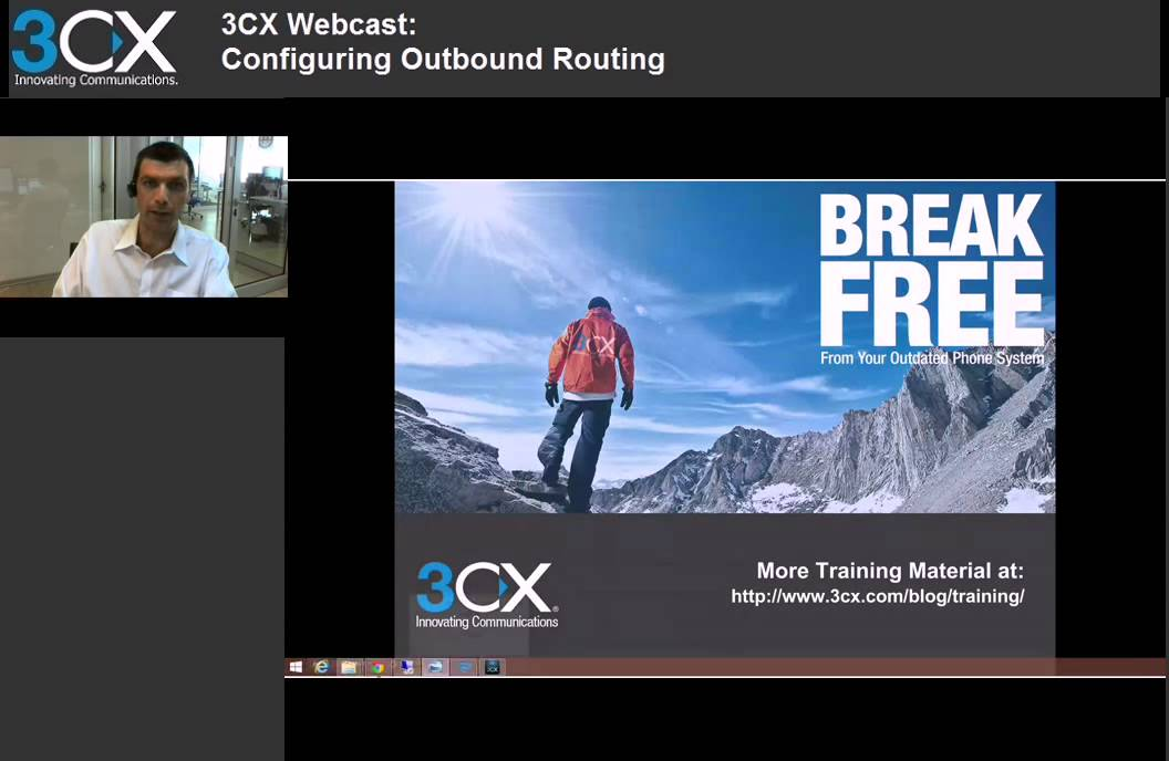 3CX Basic Training: 3 4 Configuring Outbound rules v12 5