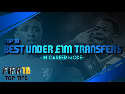 FIFA 16 Top Tips   Best Under £1m Transfers In Career Mode!!!