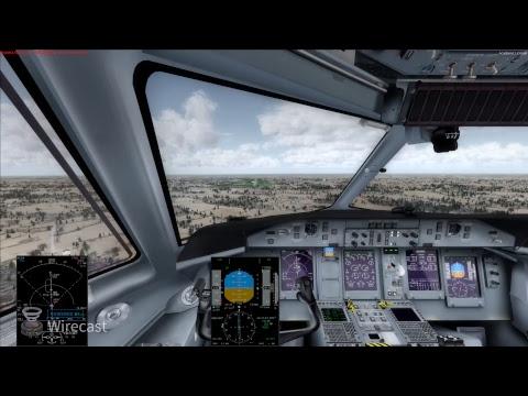 Prepar3d -- Dash8 q400 -- HD -- Full flight (cockpit view) Gdansk Lublin EPGD - EPLB