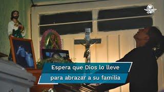 Los cuerpos de Paola y Dilan serán sepultados en el panteón Lázaro Cárdenas en la parte alta de la Sierra de Guadalupe