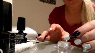 Мода Зима 2016 на дизайн ногтей Серебро и Черный