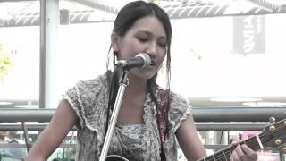井上苑子 「茜色の約束(カバー)」 2012.8.12 川崎ストリートライブ