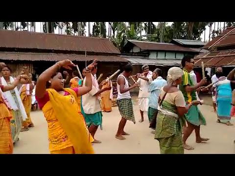 Bodo traditional dance