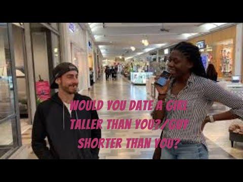 Would You Date A Girl Taller Than You?/guy Shorter Than You? (Public Interview)