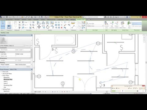 beginner tutorial   autodesk revit   making an electrical, wiring diagram