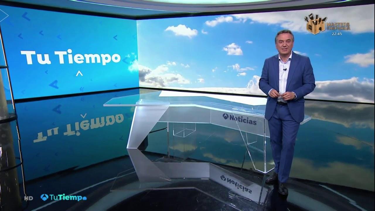 Barra De Cierzo Tu Tiempo Antena 3 Roberto Brasero 28 05 2019 Youtube