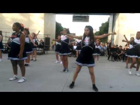 Alondra Middle School my last cheer dance
