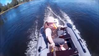 Yamaha F5AMHS + лодка ПВХ Prof Marine 300(Открыл сезон. Возможно кто то хочет приобрести или ещё думает похожий комплект. Скорость по течению 24-26..., 2016-06-02T13:59:19.000Z)