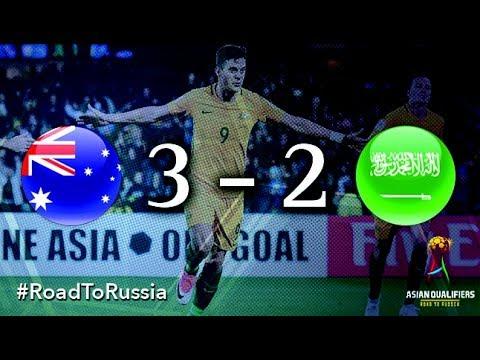 Австралия - Саудовская Аравия 3:2 видео