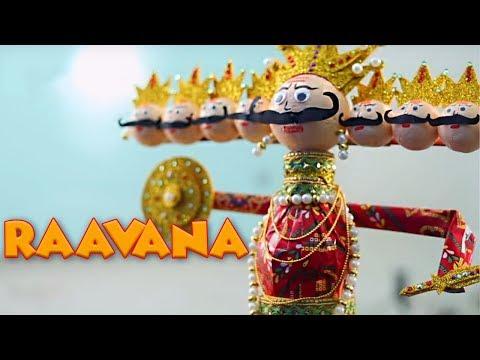 Making Of Raavana | Learn How To Make Ravana At Home | Easy DIY Videos For Children | Cool Kids