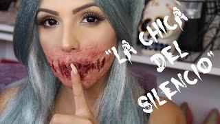 """""""La chica Del Silencio"""" Halloween Makeup-Jackie Hernandez"""