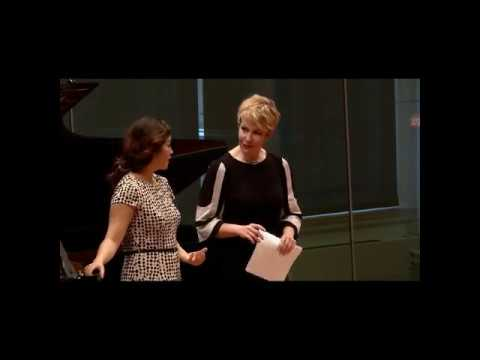 "Joyce DiDonato carnegie masterclass - a singer thing - ""acting, and ... now i gotta sing"""