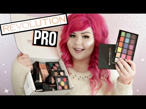 HUGE Revolution PRO Makeup Haul | First Look + Swatches