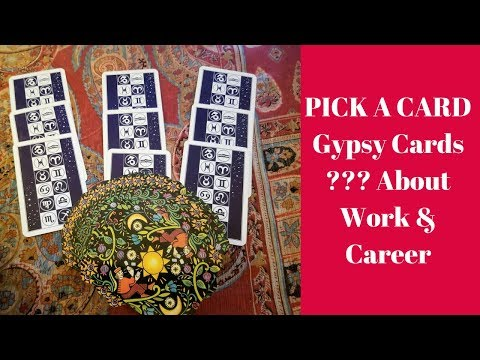 PICK A CARD GYPSY CARDS~Work/Career/Job With Anastasia