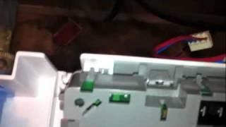 cabrio bravos oasis f1 error washer repair