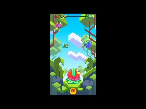 Hungry Jump (by Welldone Games) - arcade game for android - gameplay.