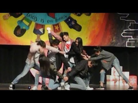 "QTS MC Show 2017 Performance (BTS ""DNA"" + Wanna One ""Energetic"")"