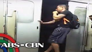 TV Patrol: Lalaki binuksan ang pinto ng bumibiyaheng tren ng PNR
