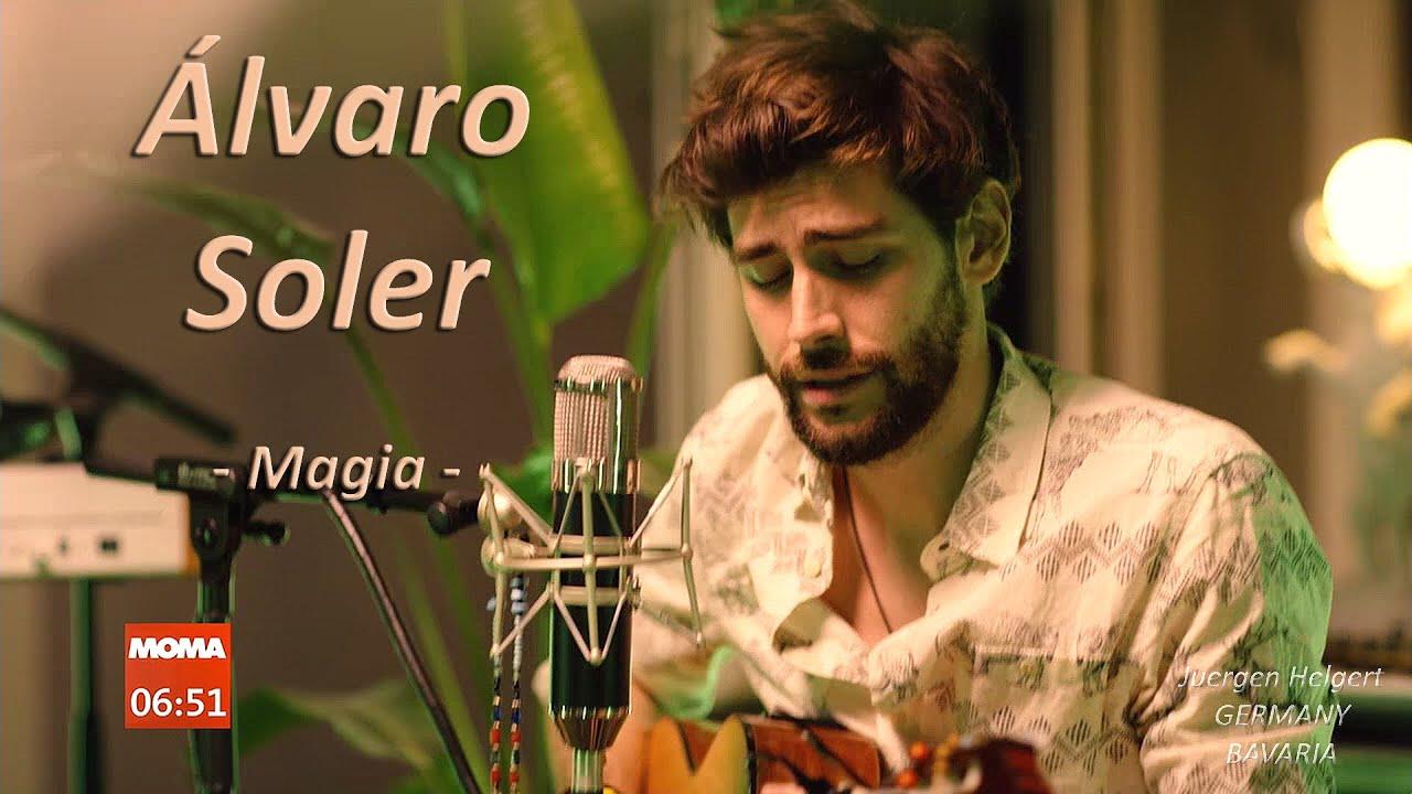 Alvaro presents his new single Magia on ARD Morgenmagazin