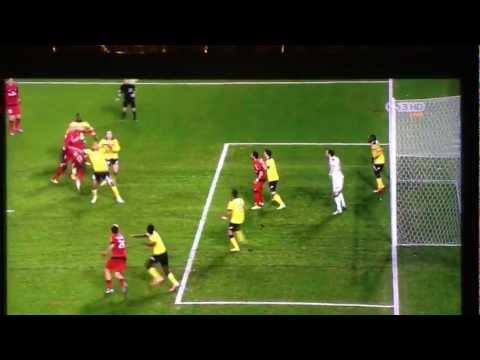 FC Sochaux vs PSG 0-1 Alex Rodrigo GOAL | 17/02/2013