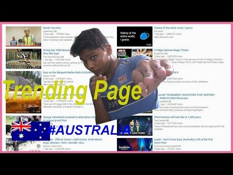 Trending Page #1 || (Australia)