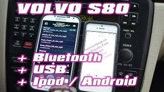 VOLVO S80 2004 USB IPOD BLUETOOTH by AUTOTOYS COM   GROM AUDIO