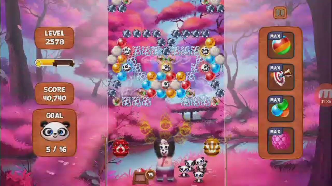 Panda Pop- Level 2578