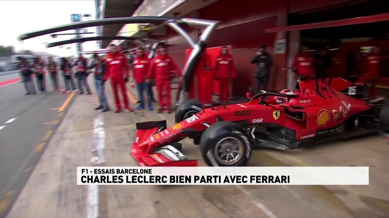 F1 - Essais hivernaux : Charles Leclerc bien parti - CANAL+ Sport