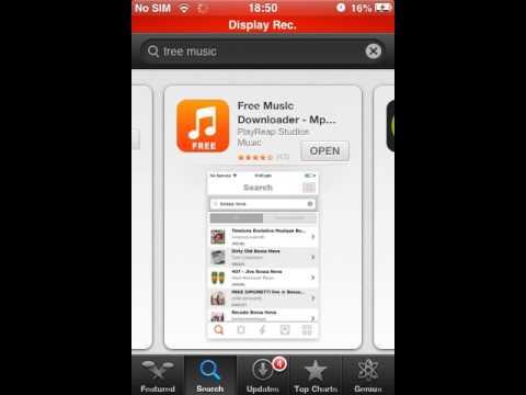 How to get FREE MUSIC on iOS 6+