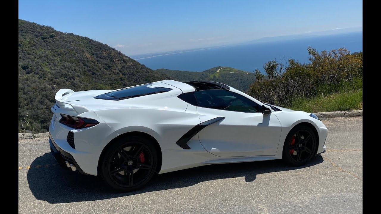 How the Production C8 Corvette Compares to Early Test Cars!