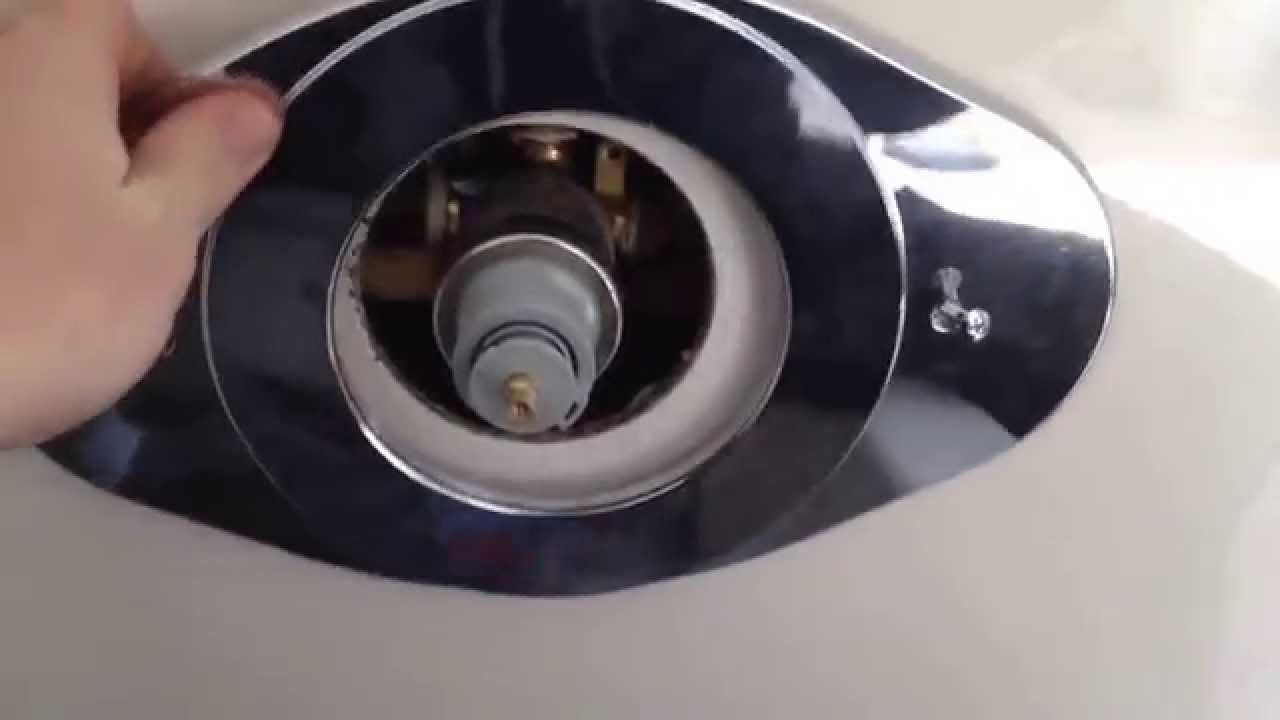 Howto: DELTA Shower Renovation Cover Plate - YouTube