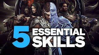 Shadow of War: 5 Essential Skills to Get Early