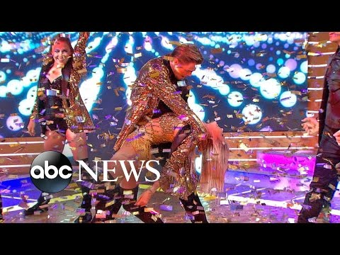 Derek, Julianne Hough Dance Live on 'GMA'